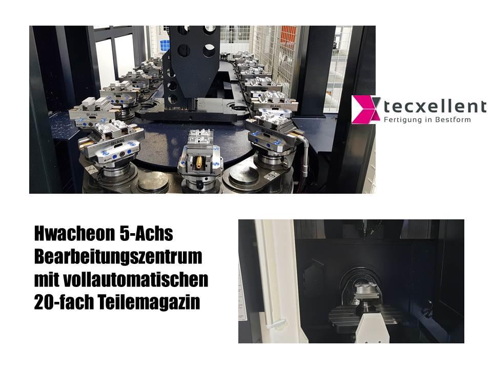 24 Std Fertigung - Vollautomatisches 5-AchsBearbeitungszentrum - 2