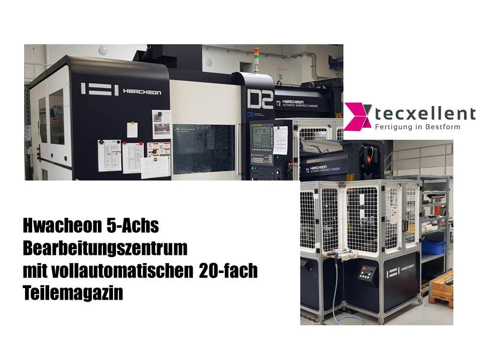 24 Std Fertigung - Vollautomatisches 5-AchsBearbeitungszentrum - 3